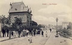 cpa-VITRY-sur-SEINE-Val-de-Marne-Rue (gpmetropole) Tags: cpa vitry port à l anglais edf centrale electrique ardoines