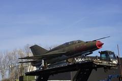 MiG.21UM 3036 in Maasbracht 25-03-2017 (marcelwijers) Tags: mig 21um 3036 maasbracht 25032017 airforce vliegtuig plane straaljager flugzeug nederland niederlande netherlands hongarije 516903036 hungary mikoyan gurevich