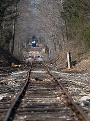 Off the Beaten Track (Jake Branson) Tags: train railroad madison north vernon indiana sw1500 3 nasa track rail
