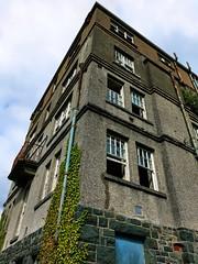 St. David's (DawnWarrior) Tags: abandoned urbex ue urbanexploration decay derelict hotel harlech northwales broken windows castiron drain pipes ivy sonyrx10 dawnwarrior hdr
