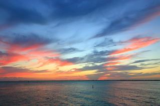 Sunset from Sunset Park, Key Colony, Marathon, FL