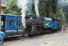 Rail journey to Metupalayam. (JohnMawer) Tags: hill station tamil nadu udhagamandalam ooty india hillstation tamilnadu coonoor in engine steamengine train track