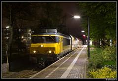 NSR 1740 + 7315 - 5581 (Spoorpunt.nl) Tags: 16 april 2017 ns reizigers nsr 1740 ddar stam 7315 station den dolder avond nacht 5581
