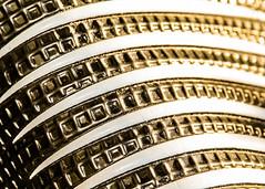 Gold Against The Soul (eskayfoto) Tags: canon eos 700d t5i rebel canon700d canoneos700d rebelt5i canonrebelt5i sk201704110240editlr sk201704110240 shoe abstract minimal gold golden light lightroom line texture pattern