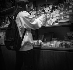 So many to choose from (Bill Morgan) Tags: fujifilm fuji x100f jpeg across bw street kichijoji tokyo