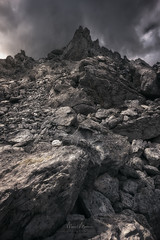Gailurrera (Manuel.Martin_72) Tags: graubünden swissalps switzerland darkmood darkness drama lightdrama mountainpeaks mountains rocks stones clouds cloudy rainy ch