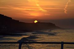 PERFECT SUNSET (Duncan Disorderly2011) Tags: sunset waves sea coast nikon d7000