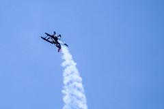 Up (Jori Samonen) Tags: pitts special s1 aircraft plane aerobatics airshow blue sky helsinkimalmi airport malmi helsinki finland canon eos 1100d efs 55250mm f456 is