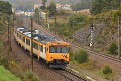 IR 872 - São Martinho do Campo (valeriodossantos) Tags: comboio cp train passageiros utd5922 unidadetripladiesel superman automotoradiesel interregional cpregional sãomartinhodocampo valongo linhadodouro caminhosdeferro portugal