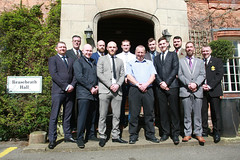 """first cohort graduates with Andy Gould • <a style=""""font-size:0.8em;"""" href=""""http://www.flickr.com/photos/146127368@N06/33823068711/"""" target=""""_blank"""">View on Flickr</a>"""