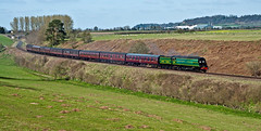 descending (midcheshireman) Tags: steam train locomotive railway severnvalley bulleid pacific 34081