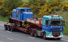 T600AHH  Allelys (highlandreiver) Tags: t600ahh t600 ahh allelys heavy haulage railway transpor rail shunter daf truck lorry wagon m6 wreay carlisle cumbria