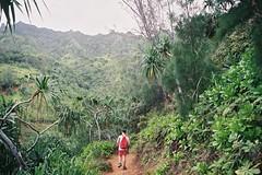green (-Mina-) Tags: nature landscape hike hawaii usa kauai kalalautrail napalicoast outdoors film analog minolta