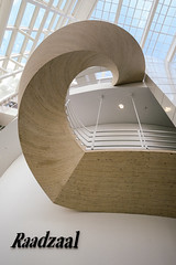 Stairway to Raadzaal (Bram Meijer) Tags: denhaag thehague trap stadhuis townhall architectuur stairs white wit