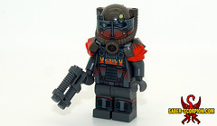 Fallout 4: Atom Cats T60 Power Armor (Saber-Scorpion) Tags: lego minifig minifigures moc brickforge fallout fallout4 fo4 powerarmor atomcats