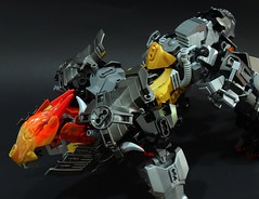 Jinroh : Speed Form (chubbybots) Tags: lego bionicle wolf mecha
