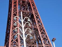 Tower Lights (deltrems) Tags: blackpool lancashire fylde coast promenade structure lights spotlights street tower