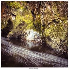 Running Water (George Bryan Jr) Tags: water rocks green wales flowing running