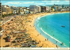 0319 R Gran Canaria - Las Palmas Braco sent to Tomislav 5.VII.1981. (Morton1905) Tags: 0319 r gran canaria las palmas braco sent 5vii1981