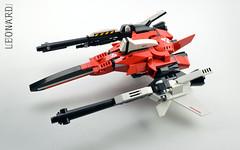 leonard ZX ((FLAVIO)) Tags: starfighter lego space flavio moc leonard zx videogame
