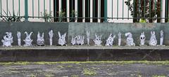 Carottes & lapins (HBA_JIJO) Tags: streetart urban graffiti paris animal art france artist hbajijo wall mur painting collage peinture pasteup murale paper spray mural urbain papier lapin rabbit