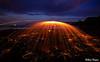 0S1A5460 (Steve Daggar) Tags: catherinehillbay sunset seascape landscape nswcentralcoast gosford wharf jetty firetwirling steelwooltwirling firespinning