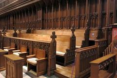 National Cathedral ~ choir benches (karma (Karen)) Tags: washingtondc thenationalcathedral choir benches hbm