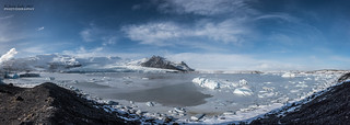 Glacier lagoon pano {Explore}