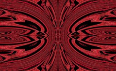 Red Doves by Sherrie D. Larch (sherrielarch) Tags: doves lovedoves reddoves redlovedoves summerdoves redblack twodoves redbirds abstractartwork digitaldesign sherrielarch