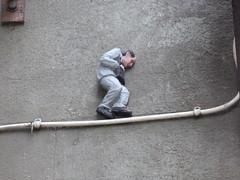 Nuart Aberdeen Wee Man (16) (Royan@Flickr) Tags: nuart aberdeen small man wee mannie international festival artists isaac cordal