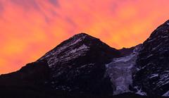 Glacier's on Fire (UnproPhotography) Tags: glacier burn red mountains landscape landscapephotography sunset chile morado