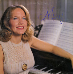 Mary (Jim Ed Blanchard) Tags: lp album record vintage cover sleeve jacket vinyl weird funny strange kooky ugly thrift store novelty kitsch awkward god religion religious christian mary ross first name basis gap tooth medallion pendant piano sheet music blue eyes
