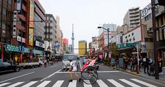 The Full Tokyo (uncultured.swine) Tags: tokyo skytree askusa rickshaw kimono japan street crosswalk hanami spring