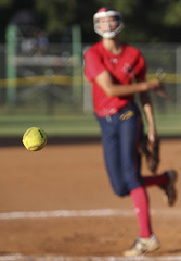 Girls Softball (Mark Chandler Photography) Tags: 2016 7dmarkii cobbcounty cobbcountyparks lostmountainpark markchandler softball action athlete athletes athletics ball bat batter canon color colour field game girls national photo photography sport sports stock
