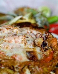 La Chingada Taqueria (grendel7469) Tags: tacos taco buche lengua jalapeno chili lime pinaloca pineappple shtimp scrimps scrimp avocado alpastortaco buchetaco carnitas carnitastaco carneasadafries fries carneasada