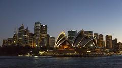 Sydney at night (mcb photography) Tags: city urban skyline harbour sydney australia nsw newsouthwales operahouse sydneyoperahouse mikebarber