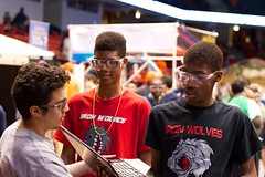 Iron Wolves Compete in FIRST Robotics Midwest Regional (Perspectives Schools) Tags: school chicago illinois high midwest iron university julie technology first engineering perspectives science lorenzo craig math pavilion uic schools academy robotics regional wolves charter bronzeville 2709 puzon team2709