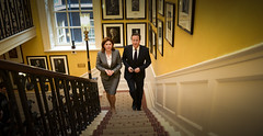 Prime Minister of Slovenia visits Downing Street (The Prime Minister's Office) Tags: uk david london meeting slovenia cameron pm primeminister downingstreet no10 alenkabratuek