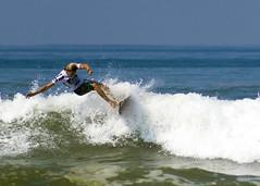 """Primer día del torneo """"Acapulco Pro"""" en playa Bonfil"""