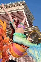 Ariel - Mickey's Soundsational Parade (aeronerd) Tags: ariel disneyland dlr thelittlemermaid disneylandresort disneycastmember disneylandcastmember soundsational mickeyssoundsationalparade