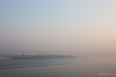 Yamuna River 7873 (Ursula in Aus) Tags: morning india mist architecture unesco yamunariver uttarpradesh earthasia