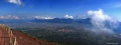 Sguardo a Sud-est (HDR) (PietroEsse) Tags: landscape napoli stitching vesuvius vesuvio canonpowershots3is montilattari
