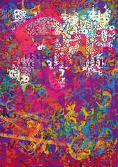 Christoph Krger: Plakat (kunstschule-wandsbek) Tags: poster typography layout design hamburg explosion plakat tipografia mutation sog studium orgie typographie anfnger typografie rausch 3semester hutung wandsbek geheimnisvoll grafikdesign wucherung kommunikati