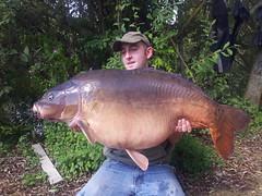 Darran Robinson 50lb 12oz Mirror Point Left long Lake
