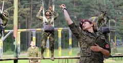 Canadian Forces - NATO Reassurance Measures 2014 (Poland) (Canadian Forces Photos - Forces canadiennes photos) Tags: woman usa canada soldier army jump women poland landing jumper airborne caf cf paratroopers canadianarmedforces canadianforces 3ppcli theunitedstates canadianarmy bcoy polisharmy canadianarmypublicaffairs natoreassurance14 may202014 natolandtask14 as20140015006 ltmatgorzatakoscielniak reassuranceexercises