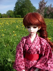 02 (DaeRiin) Tags: yukata sakura natalia bjd mk dandelions mystickids