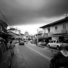 old shophouses (1davidstella) Tags: street clouds town samsung kelantan placesofinterest rantaupanjang