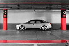 Audi parking (- AJ Photography- / Evolution Cars) Tags: low static a4 audi kw stance oem a4b7 oemplus audia4b7 kwsuspension