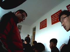 Autographer in North Korea | Pyongsong No1 High School (julia_e) Tags: school north korea wearable northkorea pyongyang dprk northkorean pyongsong wearabletech autographer