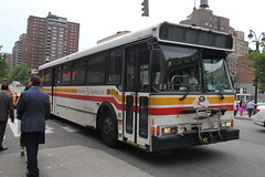 IMG_1093 (GojiMet86) Tags: street new york city nyc bus buses 2000 7 15 v shuttle orion fairfax avenue 31 7th torah 31st bh connector cong maten 7884